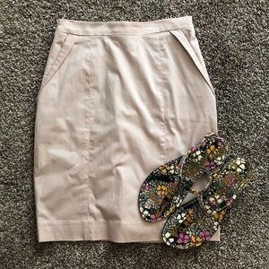 H&M Light Pink Pencil Skirt